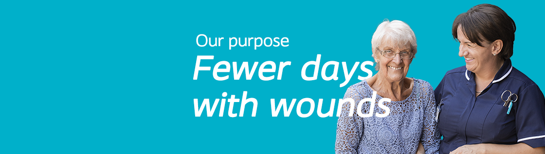 Our Purpose - Fewer days with wounds